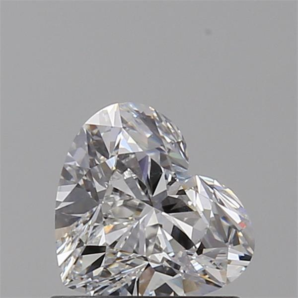 0.70 Carat Heart Loose Diamond, E, VS2, Super Ideal, GIA Certified