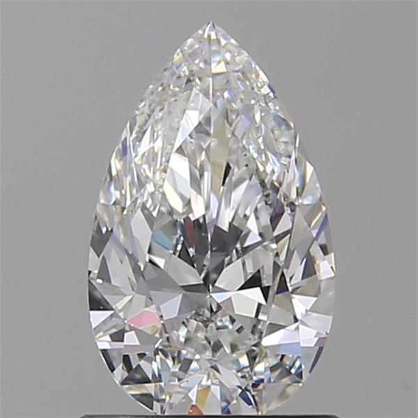 0.81 Carat Pear Loose Diamond, F, VS1, Super Ideal, GIA Certified | Thumbnail