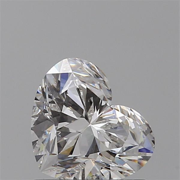 0.80 Carat Heart Loose Diamond, G, VS2, Ideal, GIA Certified | Thumbnail