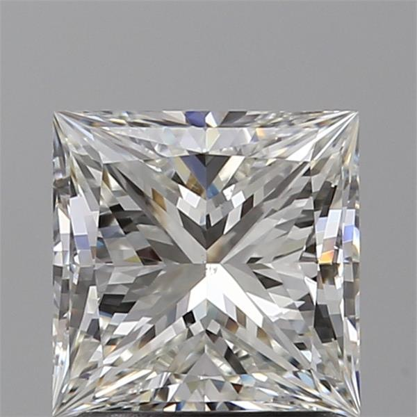1.51 Carat Princess Loose Diamond, I, VS2, Super Ideal, GIA Certified