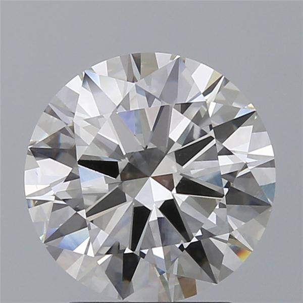 2.01 Carat Round Loose Diamond, I, VS1, Ideal, GIA Certified