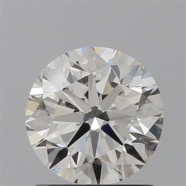 1.01 Carat Round Loose Diamond, H, VS1, Excellent, GIA Certified