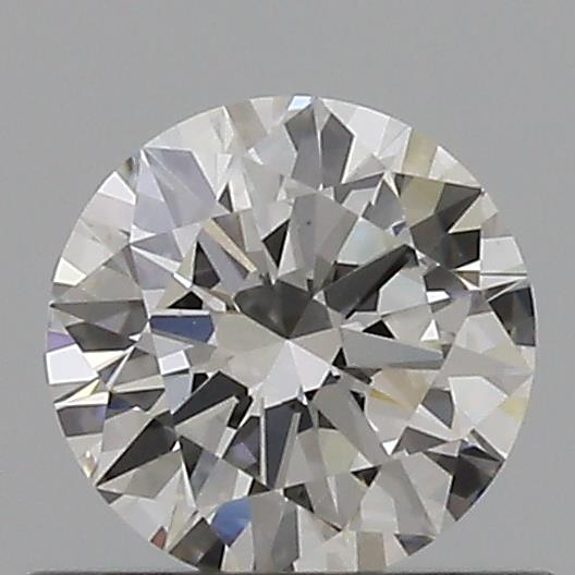0.44 Carat Round Loose Diamond, F, VS1, Excellent, GIA Certified
