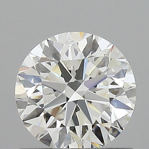 0.71 Carat Round Loose Diamond, G, IF, Excellent, GIA Certified