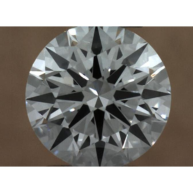 0.37 Carat Round Loose Diamond, E, IF, Super Ideal, GIA Certified