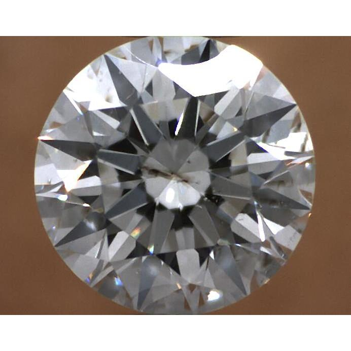 1.01 Carat Round Loose Diamond, G, SI1, Super Ideal, GIA Certified