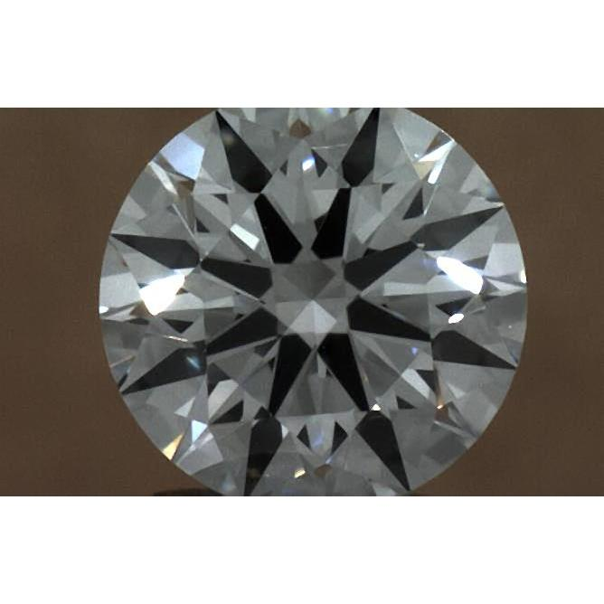 0.30 Carat Round Loose Diamond, D, VVS2, Super Ideal, GIA Certified