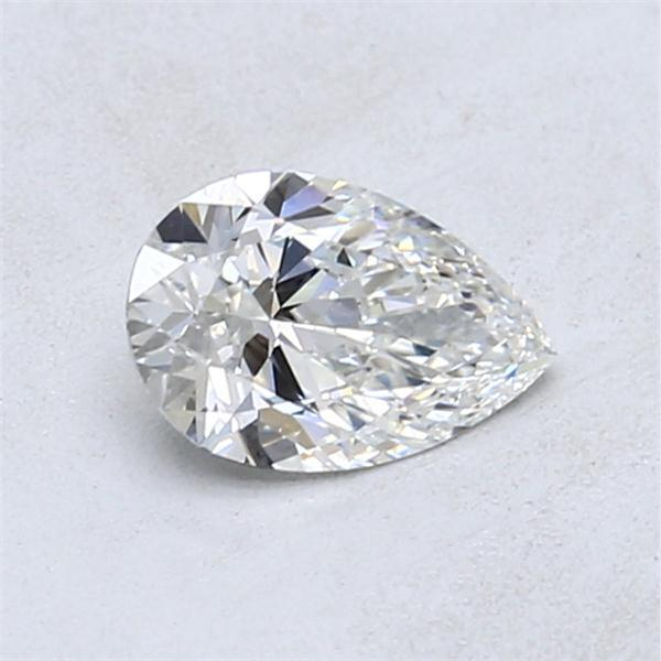 0.71 Carat Pear Loose Diamond, F, VS1, Super Ideal, GIA Certified