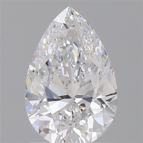 1.06 Carat Pear Loose Diamond, D, VVS1, Super Ideal, GIA Certified