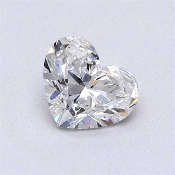 0.86 Carat Heart Loose Diamond, G, VS1, Ideal, GIA Certified