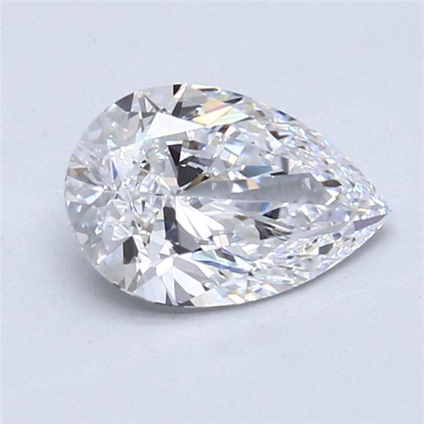 1.69 Carat Pear Loose Diamond, D, VVS1, Super Ideal, GIA Certified | Thumbnail
