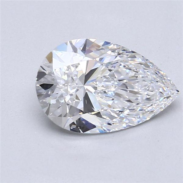 1.66 Carat Pear Loose Diamond, D, IF, Super Ideal, GIA Certified