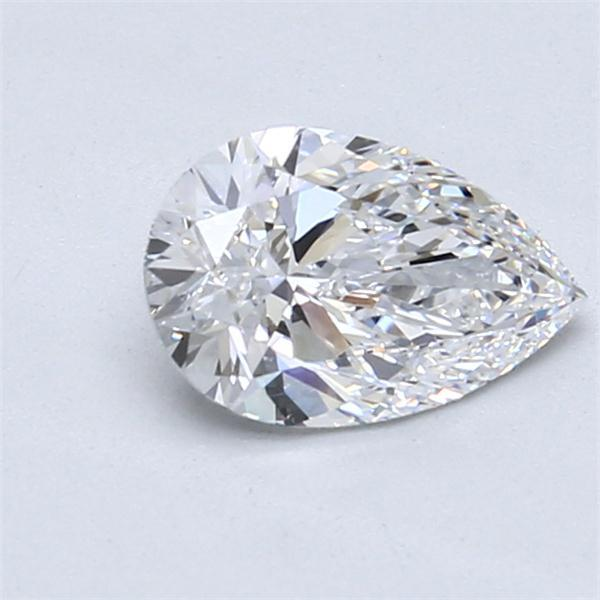 1.04 Carat Pear Loose Diamond, D, VVS2, Super Ideal, GIA Certified