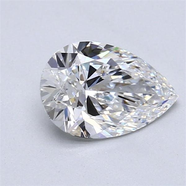 1.12 Carat Pear Loose Diamond, E, VVS1, Super Ideal, GIA Certified