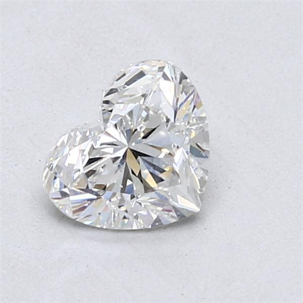 1.00 Carat Heart Loose Diamond, F, SI1, Super Ideal, GIA Certified | Thumbnail