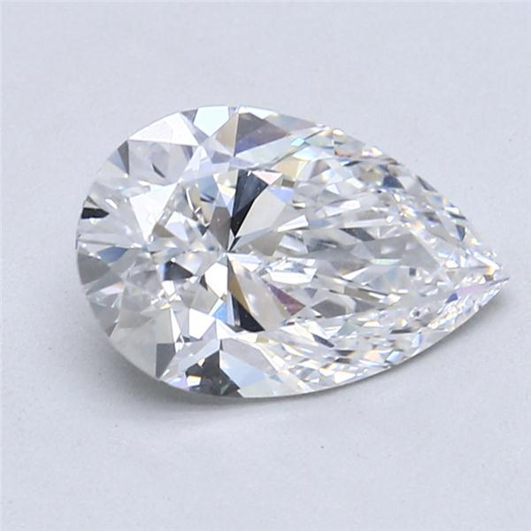 2.51 Carat Pear Loose Diamond, D, VVS1, Super Ideal, GIA Certified | Thumbnail