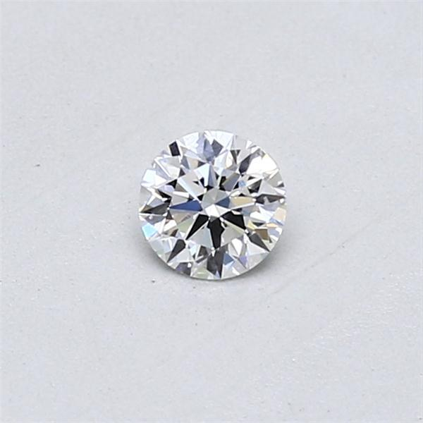 0.22 Carat Round Loose Diamond, D, SI1, Super Ideal, GIA Certified