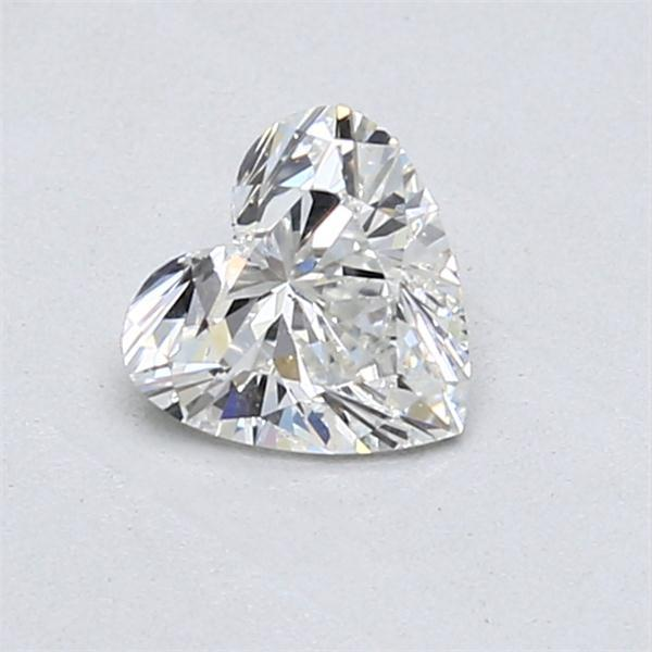 0.70 Carat Heart Loose Diamond, G, VS2, Ideal, GIA Certified