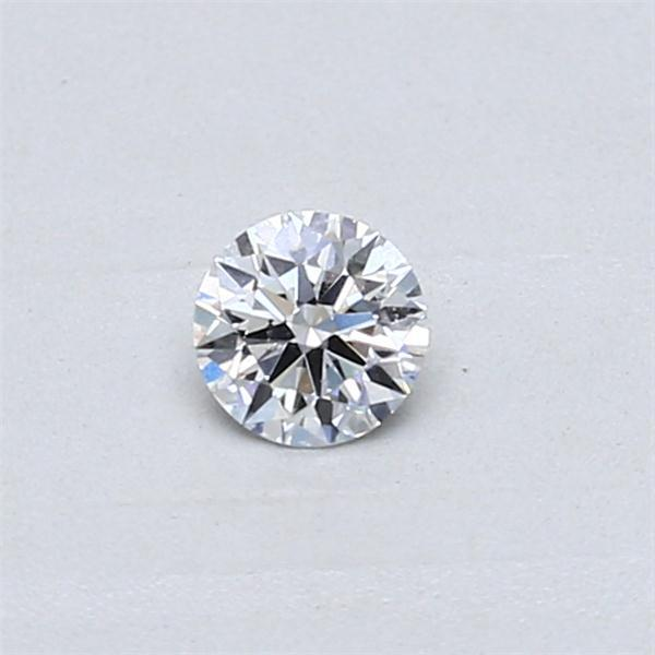 0.23 Carat Round Loose Diamond, E, SI1, Super Ideal, GIA Certified