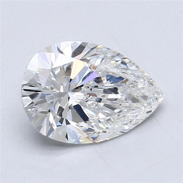 2.01 Carat Pear Loose Diamond, E, SI1, Super Ideal, GIA Certified