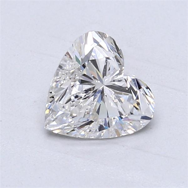 1.01 Carat Heart Loose Diamond, F, SI1, Super Ideal, GIA Certified | Thumbnail
