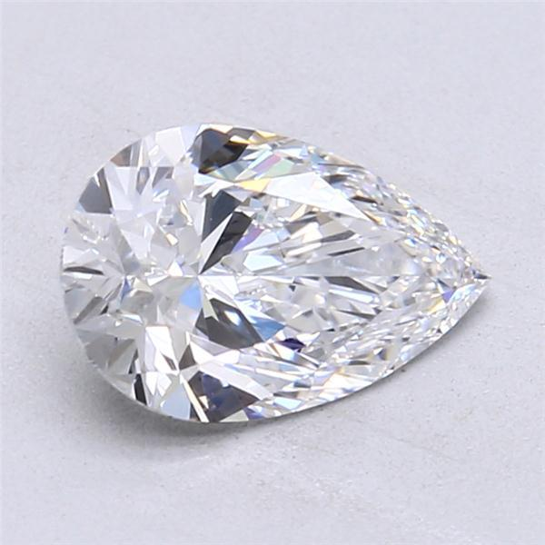 1.67 Carat Pear Loose Diamond, D, VVS1, Super Ideal, GIA Certified