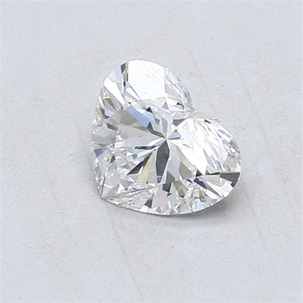 0.70 Carat Heart Loose Diamond, E, VS2, Super Ideal, GIA Certified | Thumbnail