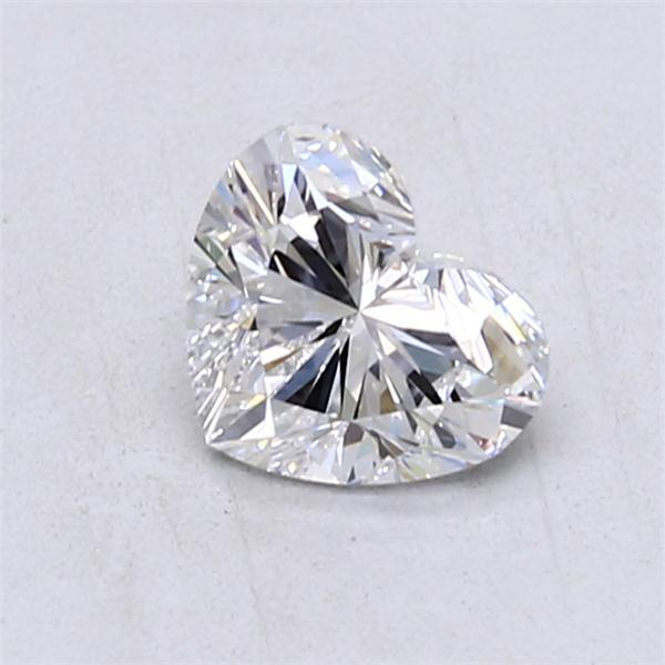 0.90 Carat Heart Loose Diamond, D, IF, Super Ideal, GIA Certified