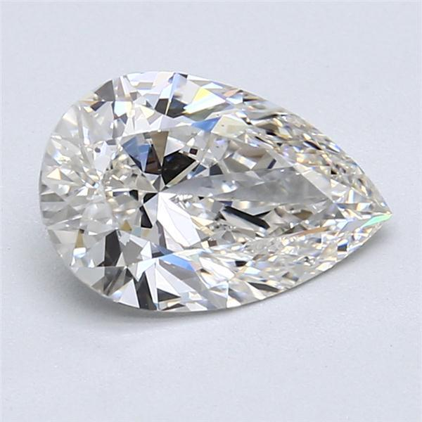 2.01 Carat Pear Loose Diamond, G, VS2, Super Ideal, GIA Certified