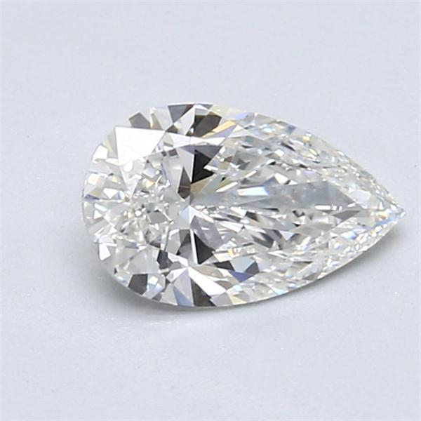 0.90 Carat Pear Loose Diamond, G, IF, Super Ideal, GIA Certified