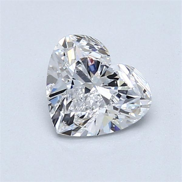 1.01 Carat Heart Loose Diamond, D, SI1, Super Ideal, GIA Certified