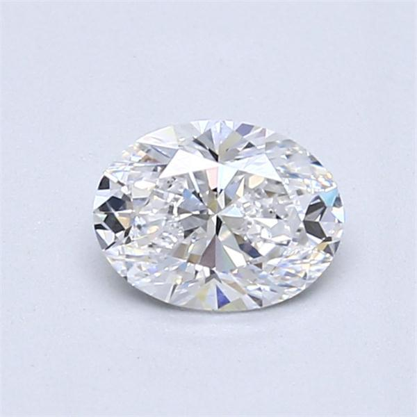 0.72 Carat Oval Loose Diamond, D, VS1, Super Ideal, GIA Certified