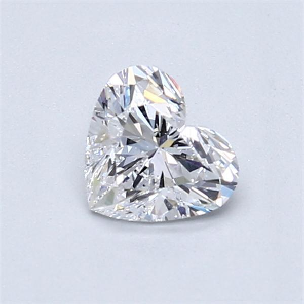 0.70 Carat Heart Loose Diamond, D, SI1, Ideal, GIA Certified