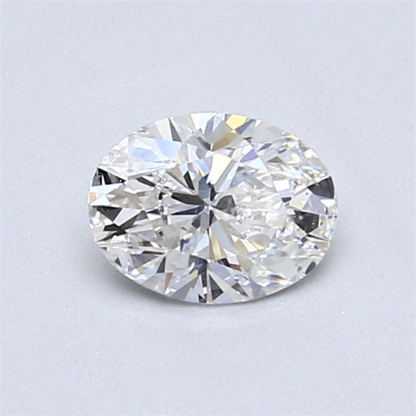 0.70 Carat Oval Loose Diamond, E, VS2, Super Ideal, GIA Certified