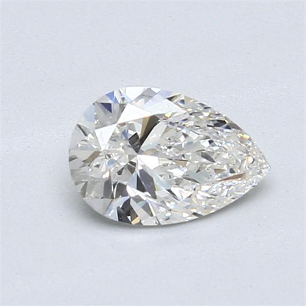 0.70 Carat Pear Loose Diamond, G, VS1, Ideal, GIA Certified