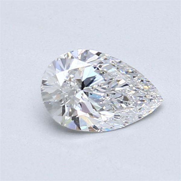 0.70 Carat Pear Loose Diamond, D, SI1, Ideal, GIA Certified | Thumbnail
