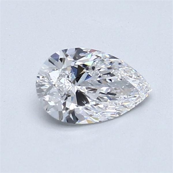 0.70 Carat Pear Loose Diamond, D, VVS1, Super Ideal, GIA Certified