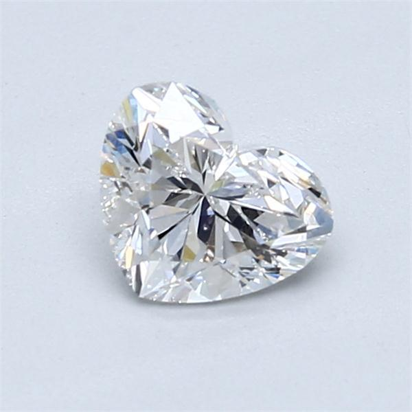 0.91 Carat Heart Loose Diamond, F, VS2, Ideal, GIA Certified