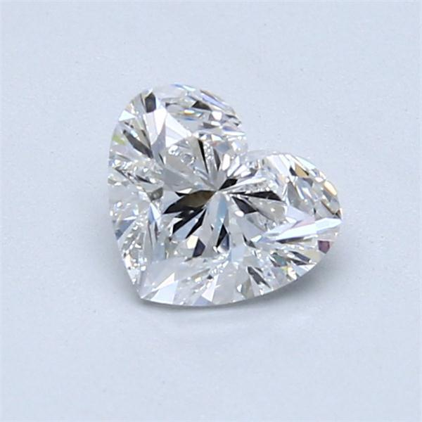 0.90 Carat Heart Loose Diamond, D, VS2, Super Ideal, GIA Certified