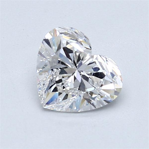 1.01 Carat Heart Loose Diamond, E, VS2, Super Ideal, GIA Certified