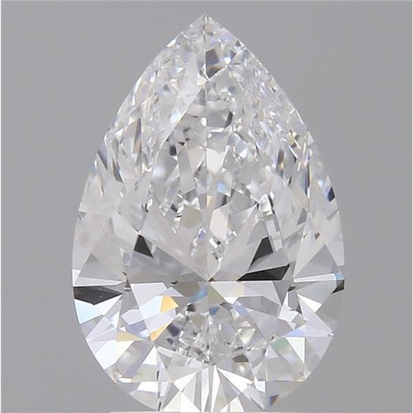 2.05 Carat Pear Loose Diamond, D, IF, Super Ideal, GIA Certified