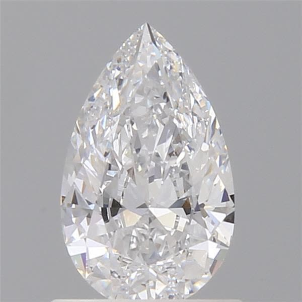 0.71 Carat Pear Loose Diamond, D, VVS2, Super Ideal, GIA Certified