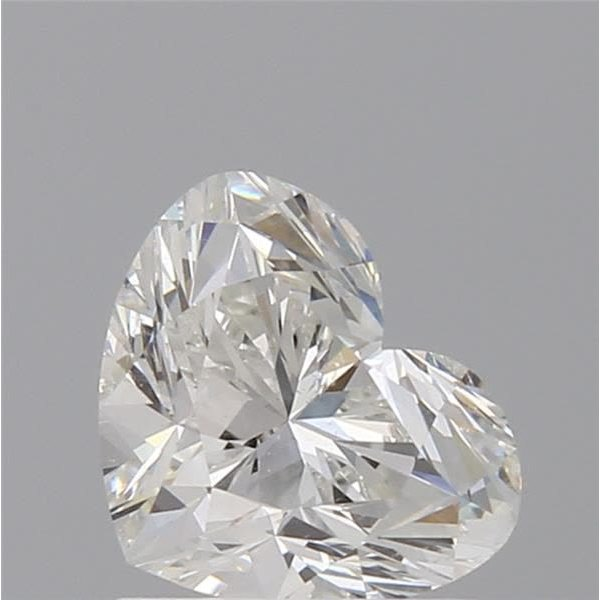 1.01 Carat Heart Loose Diamond, I, SI1, Super Ideal, GIA Certified