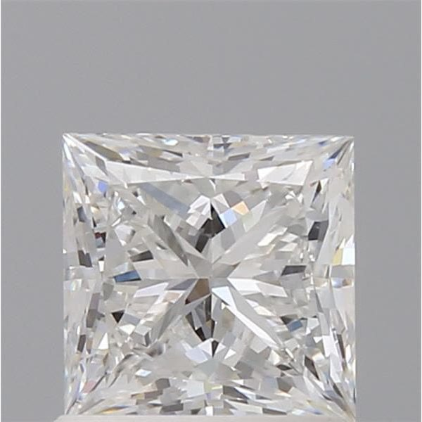 1.01 Carat Princess Loose Diamond, F, VVS2, Super Ideal, GIA Certified