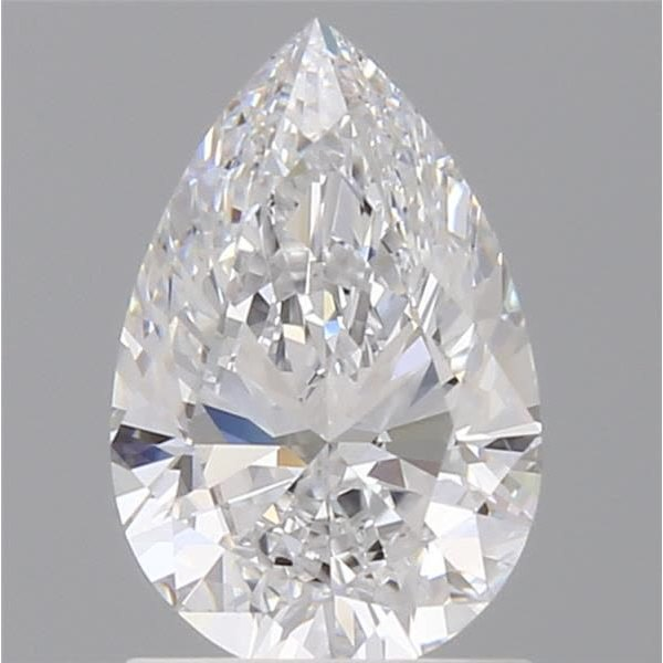 1.06 Carat Pear Loose Diamond, D, VVS1, Super Ideal, GIA Certified | Thumbnail