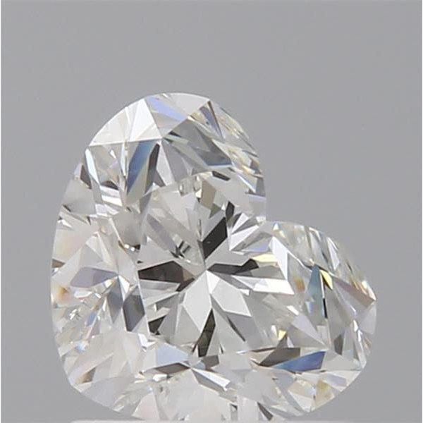 1.01 Carat Heart Loose Diamond, H, VVS1, Ideal, GIA Certified