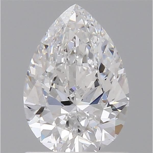 0.89 Carat Pear Loose Diamond, D, VS1, Super Ideal, GIA Certified