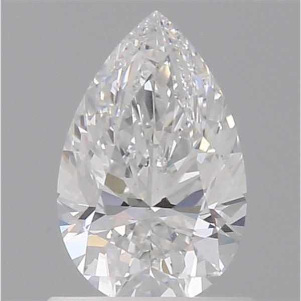 0.76 Carat Pear Loose Diamond, E, VVS1, Ideal, GIA Certified