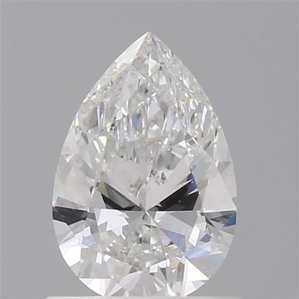 0.70 Carat Pear Loose Diamond, E, VVS2, Ideal, GIA Certified