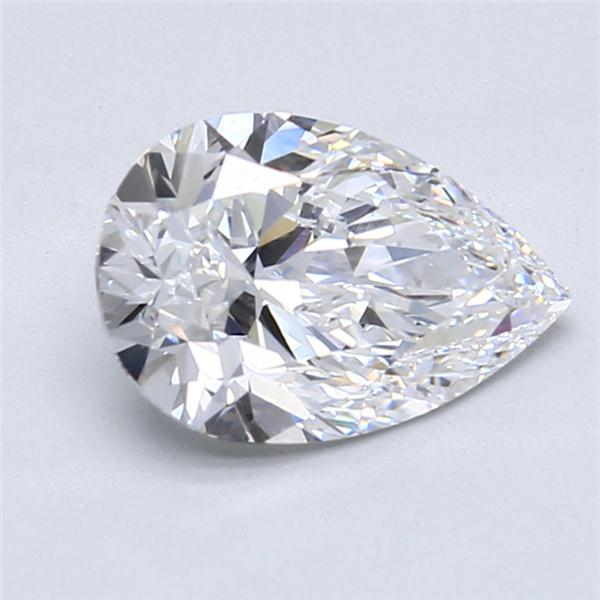 2.01 Carat Pear Loose Diamond, D, VS1, Super Ideal, GIA Certified